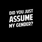 Did You Just Assume My Gender by Dumb Shirts