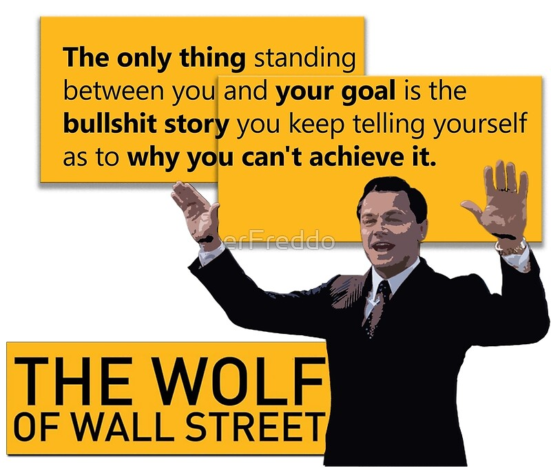"""""""Di Caprio - Wolf of Wallstreet"""" Posters by erFreddo ..."""