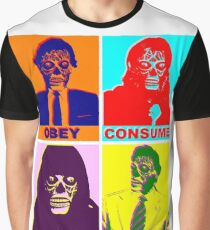 They Live - Popart Graphic T-Shirt