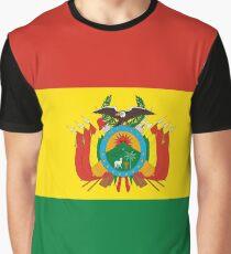 BOLIVIA (FLAG) Graphic T-Shirt
