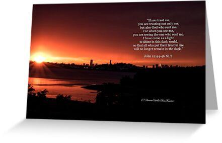 Johannes 12: 44-46 von Dawn Silva Hunter