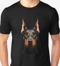Doberman low poly T-Shirt