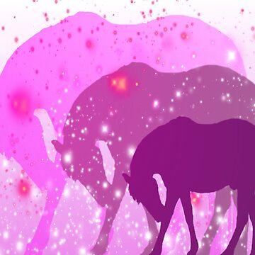 Pink Horses Design  by Sookiesooker