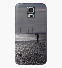 Crosby Beach, Liverpool, UK Case/Skin for Samsung Galaxy