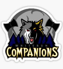 Whiterun Companions Basketball Logo Sticker