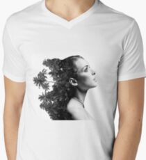 Women nature Men's V-Neck T-Shirt