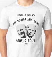Kaine and Biden's Harmonica Jam Band World Tour T-Shirt