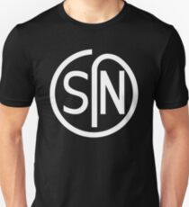NJS SIN T-Shirt White Print T-Shirt
