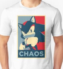 Shadow the Hedgehog (Obama Hope Poster Parody) T-Shirt