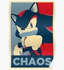 Shadow the Hedgehog (Obama Hope Poster Parody) Poster