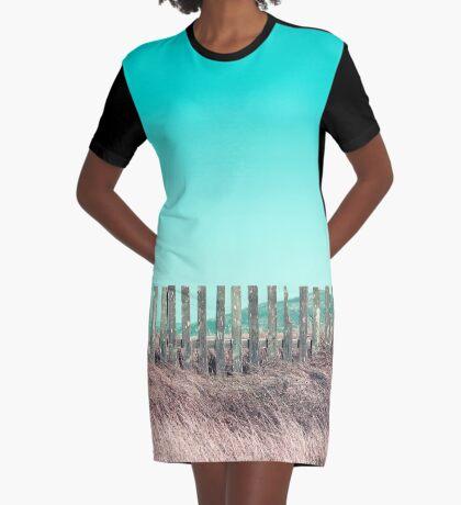 Candy Zäune T-Shirt Kleid