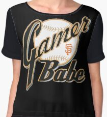 SF Giants Gamer Babe Women's Chiffon Top