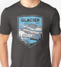 Glacier National Park Unisex T-Shirt