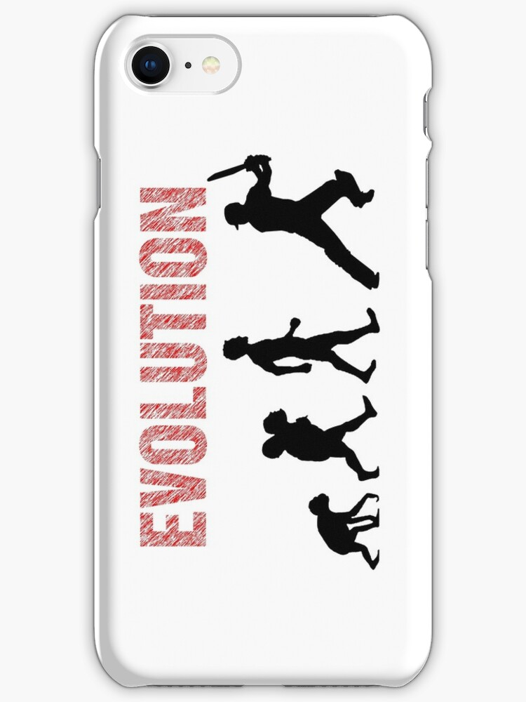 Evolution of Mankind (for cricketers) by aussietees