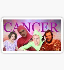 iDubbbz, Filthy Frank (Joji), MaxMoeFoe, Anything4Views CANCER Sticker