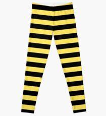 Leggings Me Before You - Rayas negras y amarillas