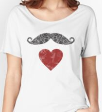 Moustache lovers Women's Relaxed Fit T-Shirt