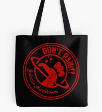 Galactic Hitchhikers Logo Tote Bag
