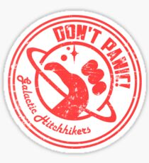 Galactic Hitchhikers Logo Sticker