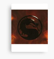 Mortal Kombat Trilogy Canvas Print