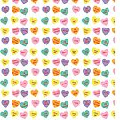 Candy Heart Pattern by imaginarystory