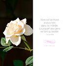 « Vivre est la chose la plus rare - Citation sur la motivation » par beauxproverbes