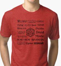RPG Classes Tri-blend T-Shirt