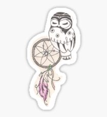 Owl & Dreamcatcher Sticker