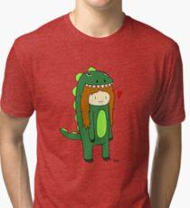 DinoCooper Tri-blend T-Shirt