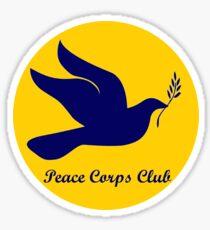 Michigan Peace Corps Club  Sticker
