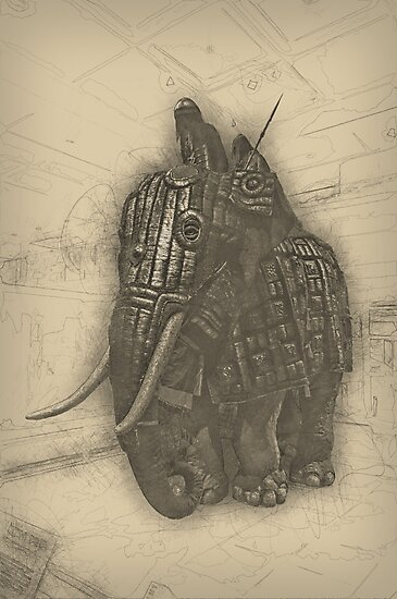 Armoured Elephant by angrypixel
