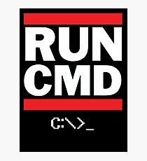 Run CMD - Run DMC Photographic Print