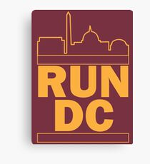 Redskins - Run DC - Run DMC Canvas Print