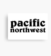 Pacific Northwest  Canvas Print