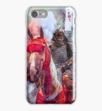 18th Century Samurai Warrior iPhone Case/Skin