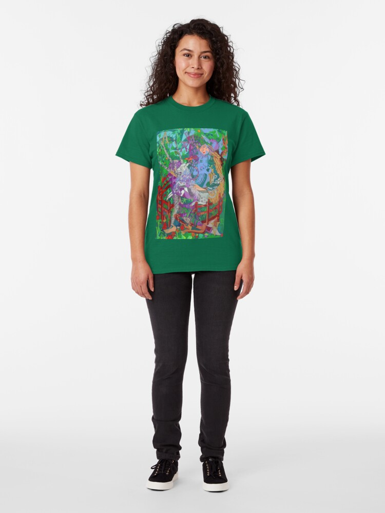 Alternate view of Archeology of the Unicorn Classic T-Shirt