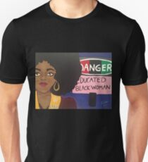 educated black girl Unisex T-Shirt