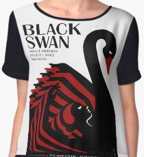 Black Swan Chiffon Top