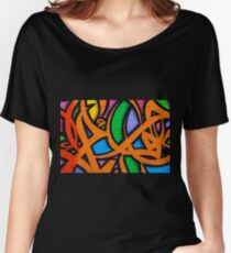Graffiti, Hosier Lane Women's Relaxed Fit T-Shirt