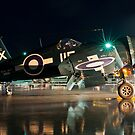 Corsair at Night by Erick Sodhi