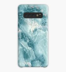 MARBLE - BLUE [iPhone case] Case/Skin for Samsung Galaxy