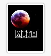Man On The Moon Sticker