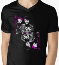 Ace of Hearts Mens V-Neck T-Shirt