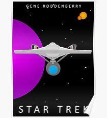Star Trek - Minimalist Enterprise Poster