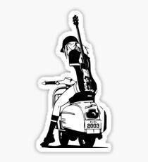 Fooly Cooly - Haruko Vespa Sticker