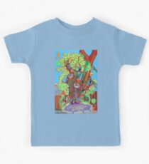 Apogee of an Apricot Tree Kids Tee