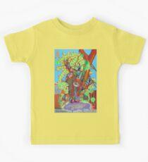 Apogee of an Apricot Tree Kids Tee