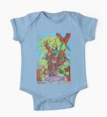 Apogee of an Apricot Tree One Piece - Short Sleeve