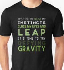 Camiseta ajustada Desafiar la gravedad