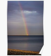 The Lighthouse at the End of the Rainbow Poster